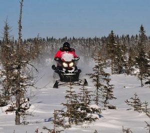 Raid motoneige au Québec Appalaches